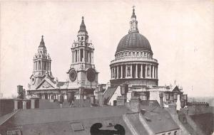 London United Kingdom, Great Britain, England St Paul's Cathedral London St P...