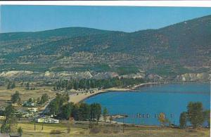 Scenic view,  Skaha Lake Beach,  near Penticton,   B.C.,   Canada,  40-60s