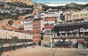 Casemates Barracks, Gibraltar, Early Postcard, Unused