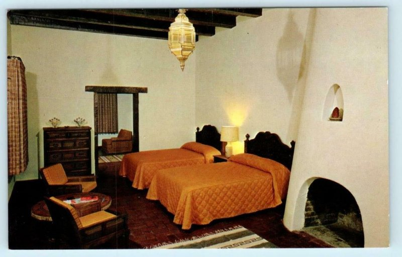TUPAC, AZ Arizona ~ Casita Room TUBAC VALLEY COUNTRY CLUB ca 1960s  Postcard