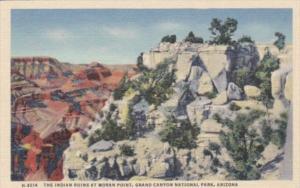 Arizona Grand Canyon National Park The Indian Ruins At Moran Point Fred Harvey