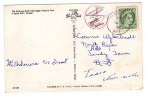 Canada Postage Due Cancel 1958, Clarkson, Ontario