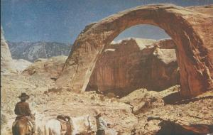 Rainbow Bridge, Utah, Early Postcard, Unused