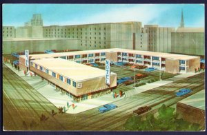 MN MINNEAPOLIS Downtown Guest House Motel, 4th Ave So at 7th St. pm1958 - Chrome
