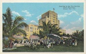 MIAMI  , Florida , 1910s ; Hotel Flamingo , Dancing in the Tea Garden