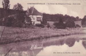 Contrexeville (Vosges), France, 1900-1910s, La Ferme des Eveques et l´stang ...