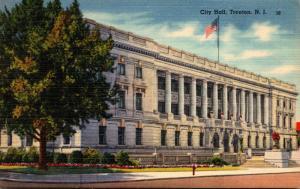 New Jersey Trenton City Hall 1948