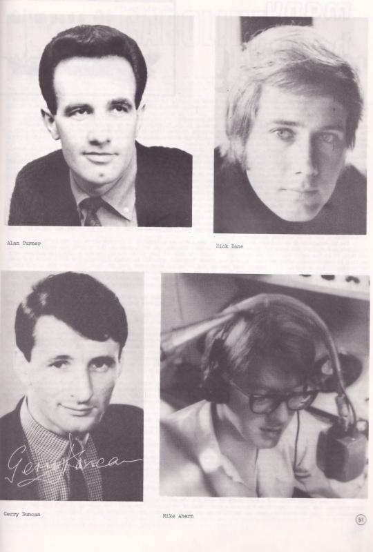 Happy Birthday Radio Pirate Caroline Rare 1984 Photo DJ Book