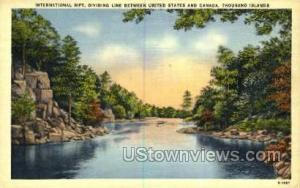 International Rift Thousand Islands NY Unused