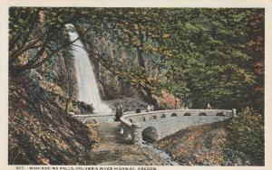 Wah-Kee-Na Falls - Columbia River Highway, Oregon - WB