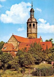 Hildesheim Die St Mauritiuskirche aus der Mitte Church