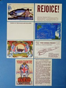 South Atlantic Souvenirs Postcards Falkland Islands, Careless Talk Costs Lives