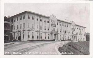 California Fort Mcdowell Angel Island Post Hospital Real Photo
