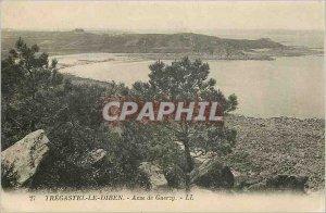 Old Postcard Tregastel-le-Diben - Anse Guerzy