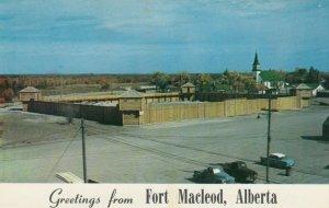 FORT MACLEOD , Alberta , Canada , 50-60s ;  Replica of Fort