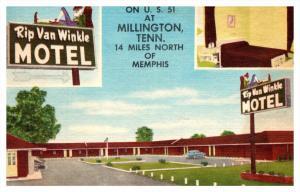 Tennessee  Memphis , Rip van Winkle Motel