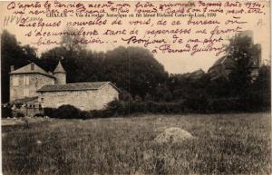 CPA CHALUS - Vue du rocher Hist. ou fut blesse Richard Coeur-de-Li (390626)