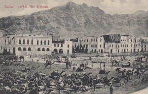 Aden , Yemen , 00-10s ; Camel Market #2