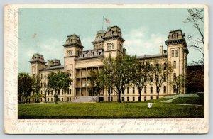 Columbus Ohio~Deaf And Dumb Institute~2nd Empire Architecture~1904 Detroit Pub