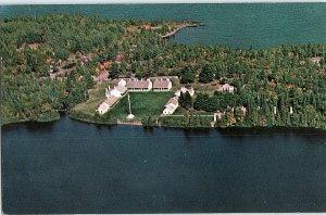 Chrome AERIAL VIEW Copper Harbor In Grant - Near Houghton Michigan MI AH8462