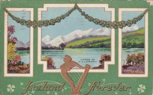 SAINT-PATRICKS´S DAY : PU-1911 :  #15 , Lakes of Killarney , Ireland