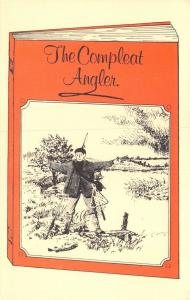 Limited Edition 1983 Postcard British River Fishes, The Compleat Angler #M73