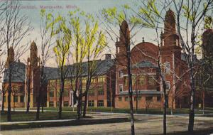 MARQUETTE, Michigan, PU-1915; High School