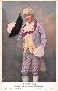 Der lustige Krieg Giraldi, Marchese Sebastiani, Franz Zell, Johann Strauss Musik