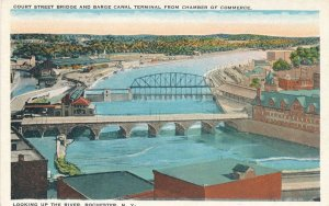 Court Street Bridge - Rochester NY, New York and Barge Canal Terminal - WB