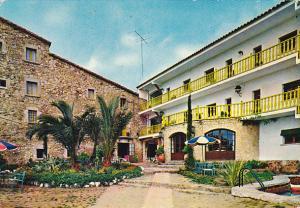 Spain Gerona Hotel San Juan Jardin Pergola Piscina Restaurante
