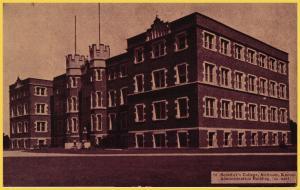 Atchison, Kansas, St. Benedict's College, Administration Building