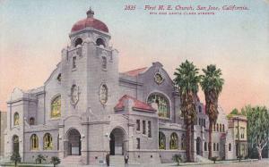 The First M.E.  Church,  San Jose,  California,   00-10s