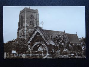 Kent SPELDHURST ST. MARY'S CHURCH & LYCH GATE - Old RP Postcard