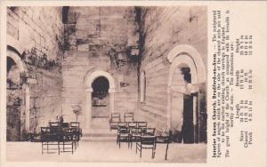 England Stratford-on-Avon Interior Of Saxon Church