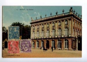 236373 FRANCE NANCY Theatre Vintage RPPC to Ethiopia