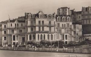 Collingwood Hotel Ilfracombe Real Photo Postcard