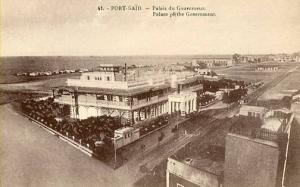 Africa - Egypt, Port Said. Palace of the Government