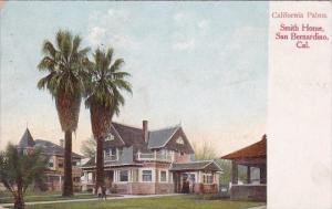 California San Bernardino California Palms Smith Home 1910