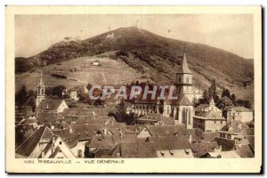 Ribeauville - Vue Generale - Old Postcard