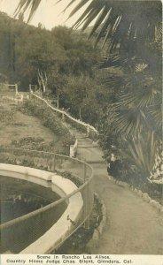 C-1910 Country Home Judge Silent Glendora California RPPC Photo Postcard 9793