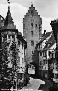 Meersburg Bodensee Obertor und Baren Street Gate Postcard