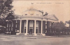 COCHRAN, Georgia, 10-30s ; First Methodist Church