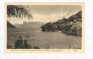 Nictheroy - Corcovado Mountain from the cove of Sao Francisco, Brazil 1939