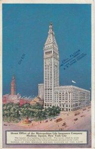 NEW YORK CITY , 1900-10s ; Metro Life Insurance Building
