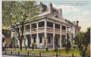 Brigham Young's Beehive House, Salt Lake City, Utah Pre-1907