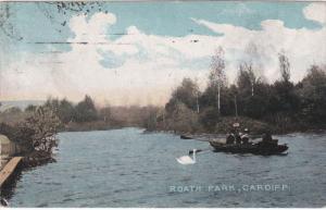 CARDIFF, Wales, 1900-1910's; Roath Park