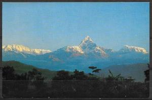 Nepal, Annapurna Himal (24,689 ft.) at Pokhara, unused