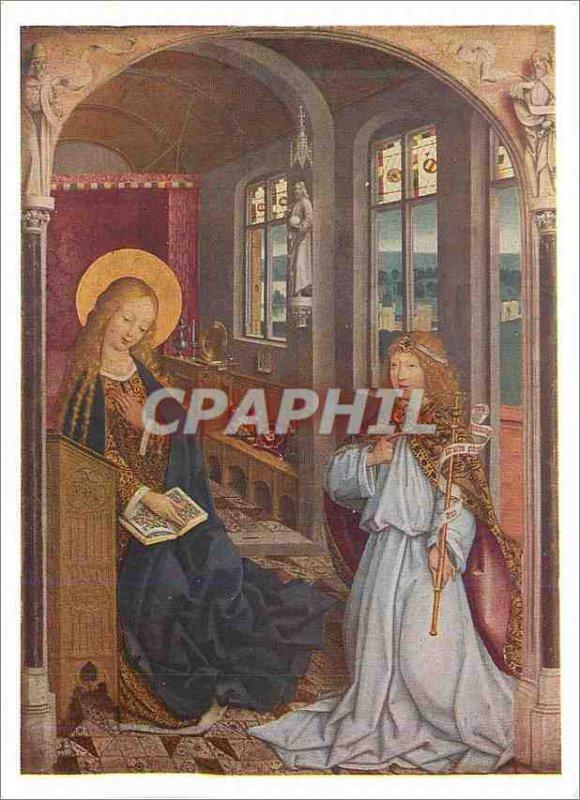 Postcard Modern National Gallery Master of Liesborn The Annunciation
