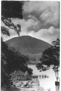 RP: Wooden Hut Next to Volcano, Mexico 1930s