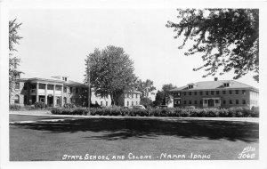 H9/ Nampa Idaho RPPC Postcard c1950s State School and Colony Ellis